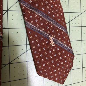 Yves Saint Laurent designer unique tie